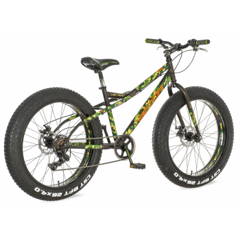 "Visitor BICIKL 1260025 FAT262 26""/16"" VISITOR FAT BIKE MILITARY Z, specijalni bicikl, crna"