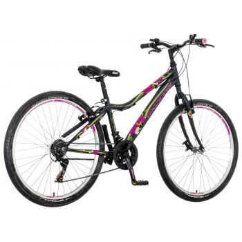 "Explorer BICIKL 1261057 NOR263 26""/14"" EXPLORER NORTH CRNO ROZA BE, ram za mtb bicikl, crna"