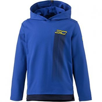 Under Armour Sc30 Warm Up Hoody-ryl/mdn/txi, dečji duks, plava