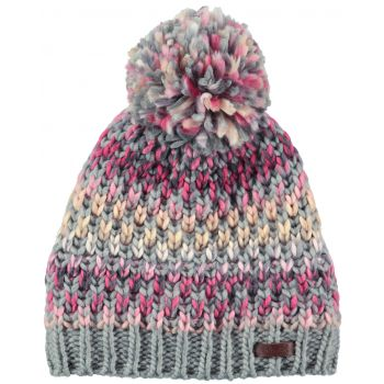 Barts Nicole Beanie Heather Grey One Size, ženska kapa, siva