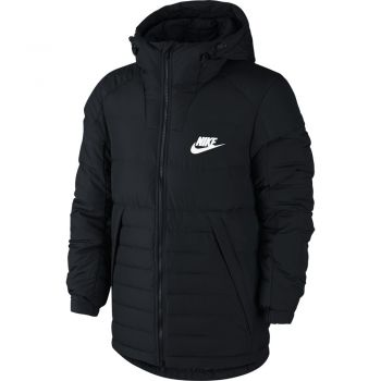 Nike M Nsw Down Fill Hd Jacket, muška jakna za fitnes, crna