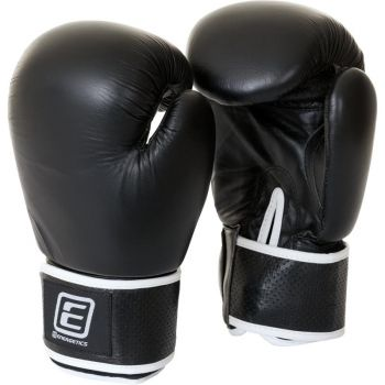 Energetics Boxing Glove Leather Tn, rukavice za boks, crna