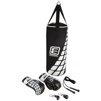Energetics Boxing Set Junior Ft, vreća za boks, crna