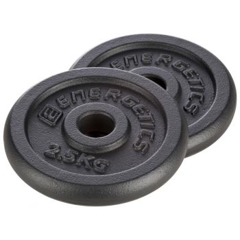 Energetics Cast Iron Disc Pair 30 Mm, teg disk iron, crna