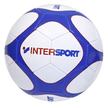 Intersport Shop Promo Fb, lopta za fudbal, bela