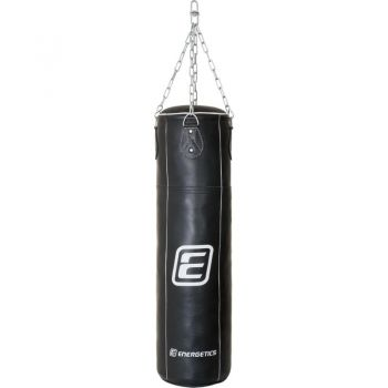 Energetics Punching Bag Leather 108cm Tn, vreća za boks, crna