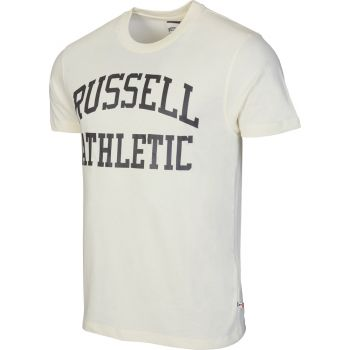 Russell Athletic S/S CREW NECK  TEE WITH LOGO PRINT, muška majica, bela