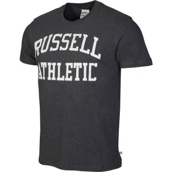 Russell Athletic S/S CREW NECK  TEE WITH LOGO PRINT, muška majica, crna