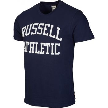 Russell Athletic S/S CREW NECK  TEE WITH LOGO PRINT, muška majica, plava