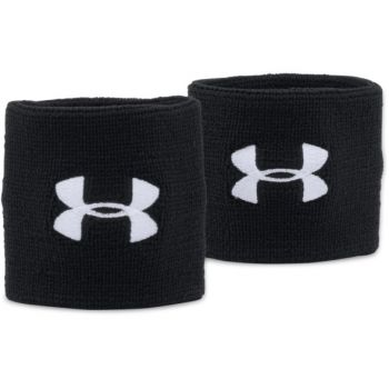 Under Armour UA PERFORMANCE WRISTBANDS, znojnica za zglob, crna