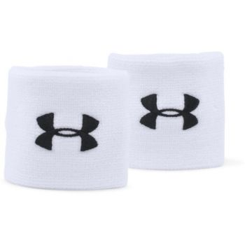 Under Armour UA PERFORMANCE WRISTBANDS, znojnica za zglob, bela