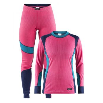 Craft BASELAYER SET W, ženski donji veš set, pink