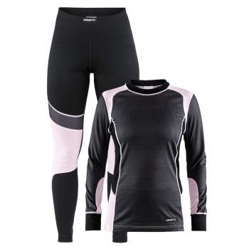 Craft BASELAYER SET W, ženski donji veš set, crna