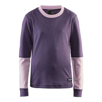 Craft BASELAYER SET J, dečji donji veš set, ljubičasta