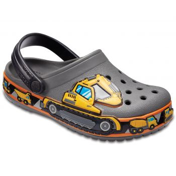 Crocs KIDS' CROCBAND™ FUN LAB GRAPHIC CLOGS, dečije papuče
