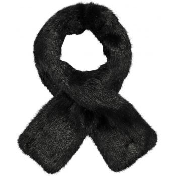 Barts HOLLY SCARF BLACK ONE SIZE, šal, crna