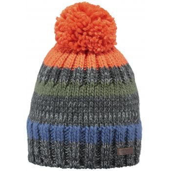 Barts BRODYS BEANIE ORANGE ONE SIZE, šal, multikolor