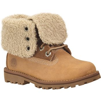 Timberland 6 IN WP SHEARLING BOOT, dečije cipele, žuta