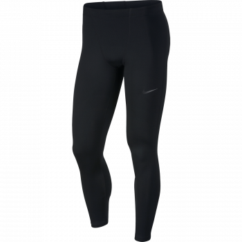 Nike M NK THERMAL RUN TIGHT, muške helanke za trčanje, crna