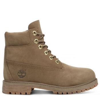 Timberland 6 IN PREMIUM WP BOOT, dečije cipele, braon