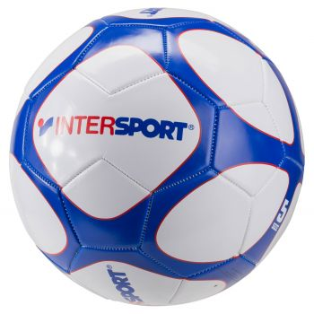 Intersport SHOP PROMO, lopta za fudbal, bela