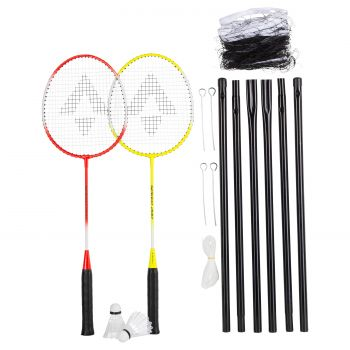 Tecnopro SPEED 200 SET 2, badminton set, žuta