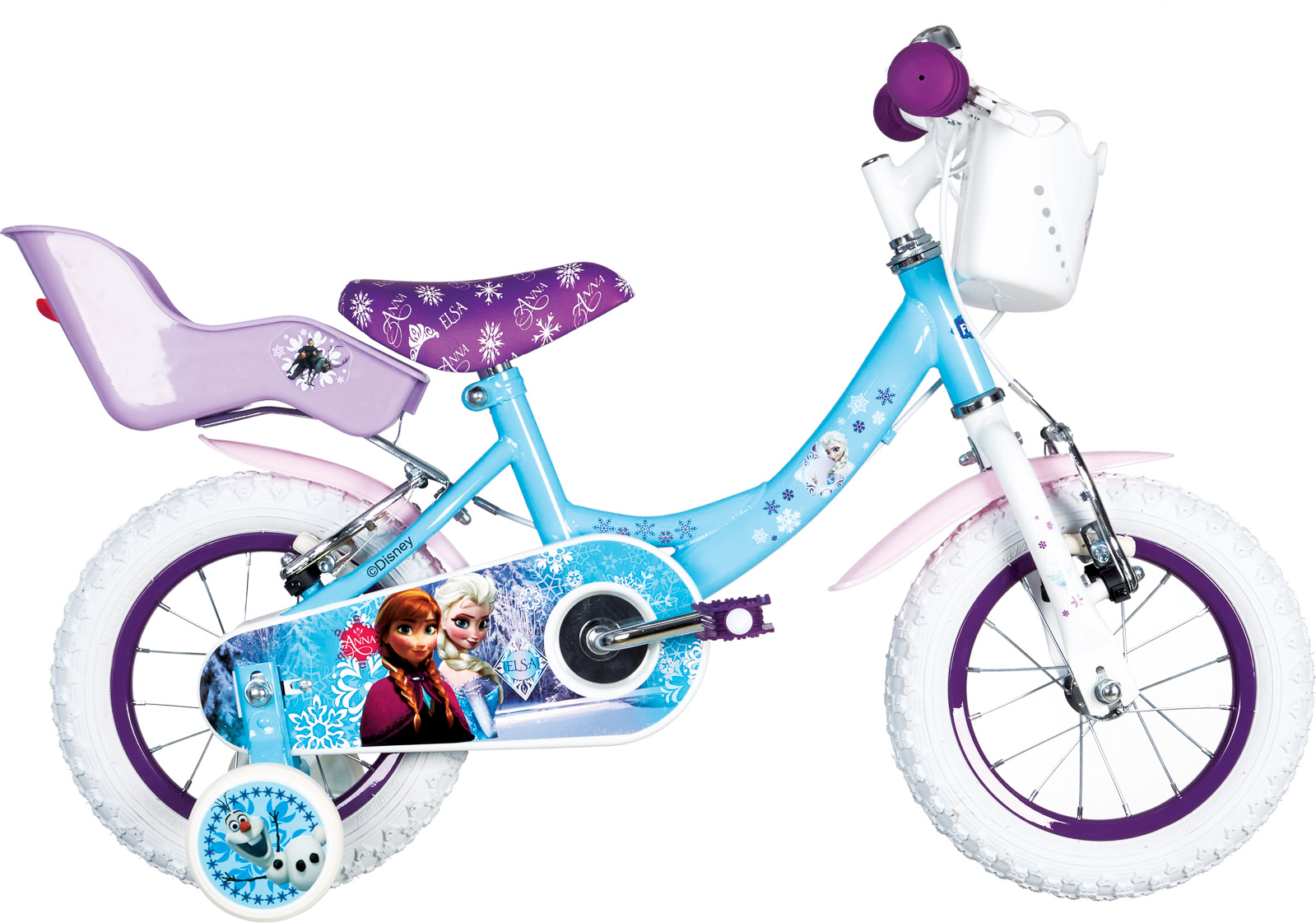 Frozen FROZEN 12, dečiji gradski bicikl, plava