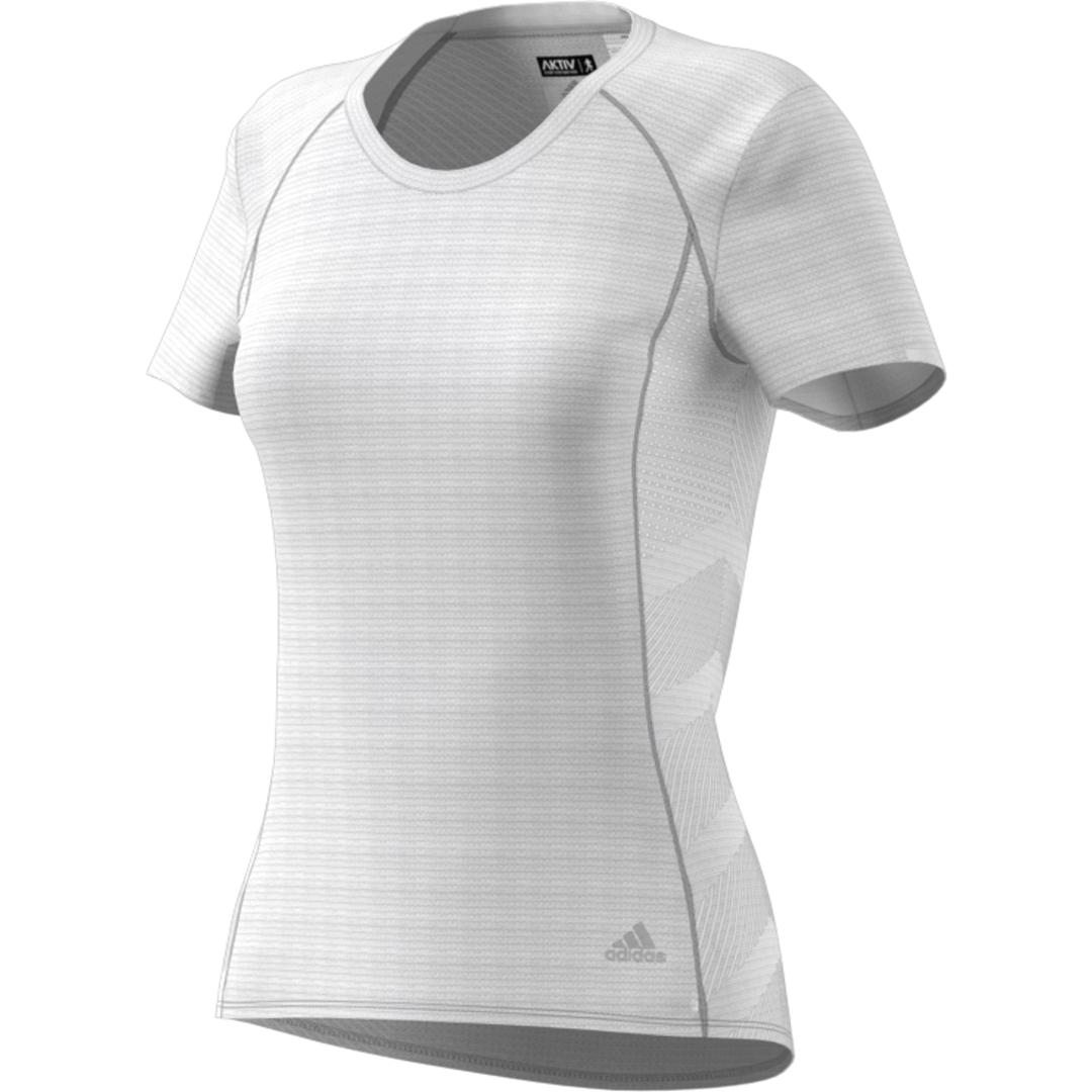 adidas FR SN SS TEE W, ženska majica za trčanje, bela