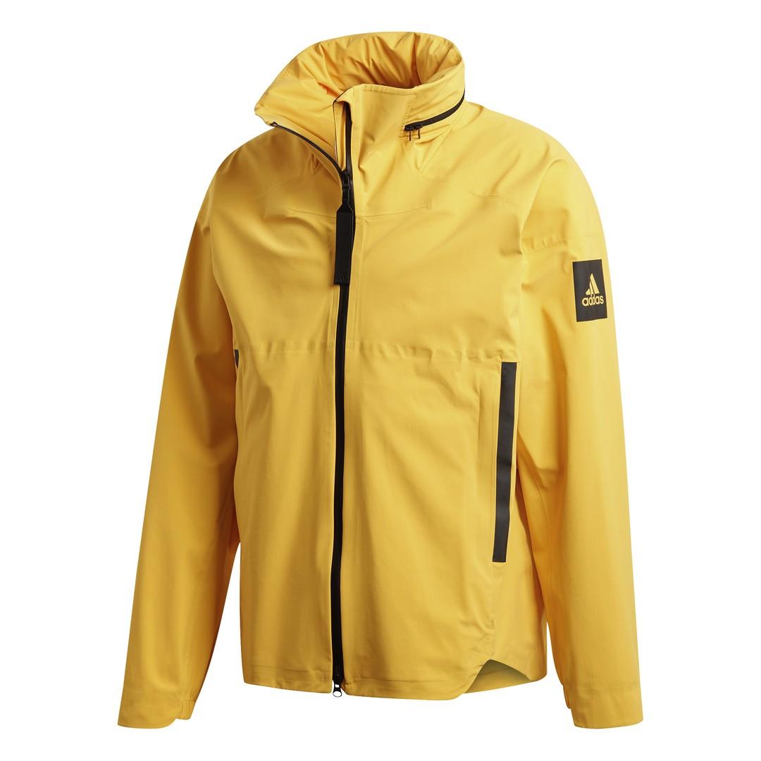 adidas MYSHELTER JKT, muška jakna za planinarenje, žuta