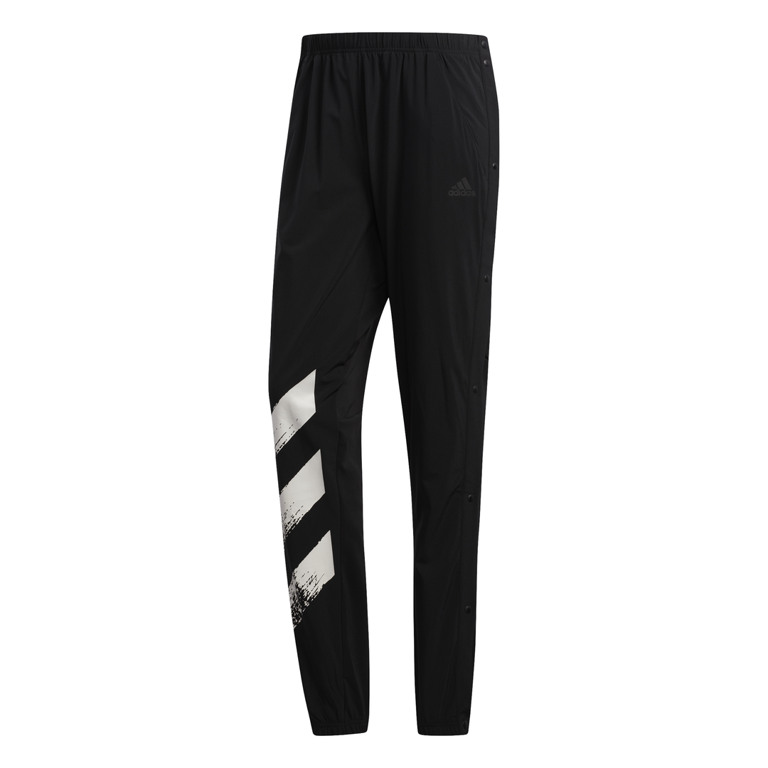 adidas DECODE PANT M, muški donji deo trenerke za trčanje, crna