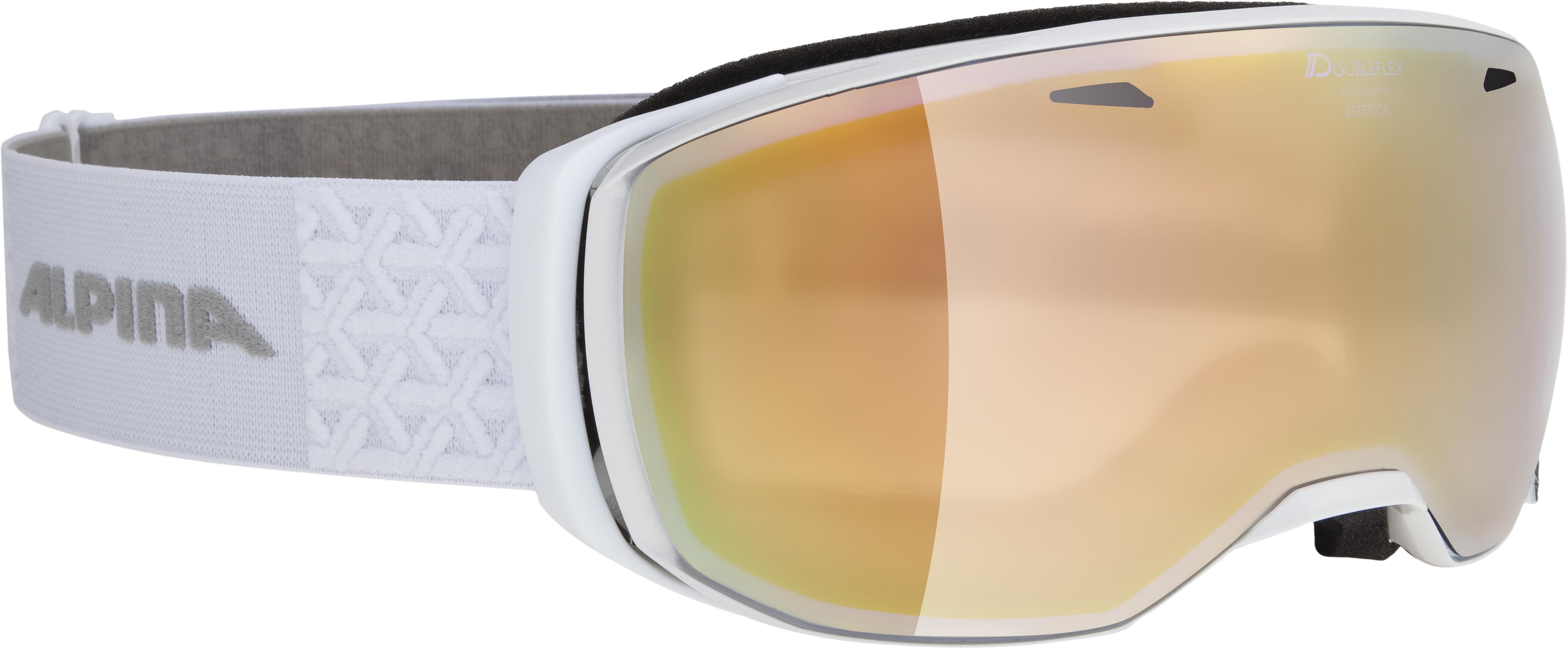 Alpina ESTETICA HM, skijaške naočare, bela