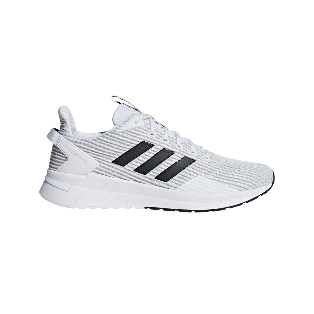 adidas QUESTAR RIDE, muške patike za trčanje, bela