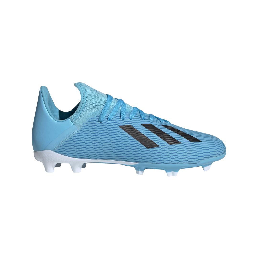 adidas X 19.3 FG J, dečije kopačke za fudbal (fg), plava