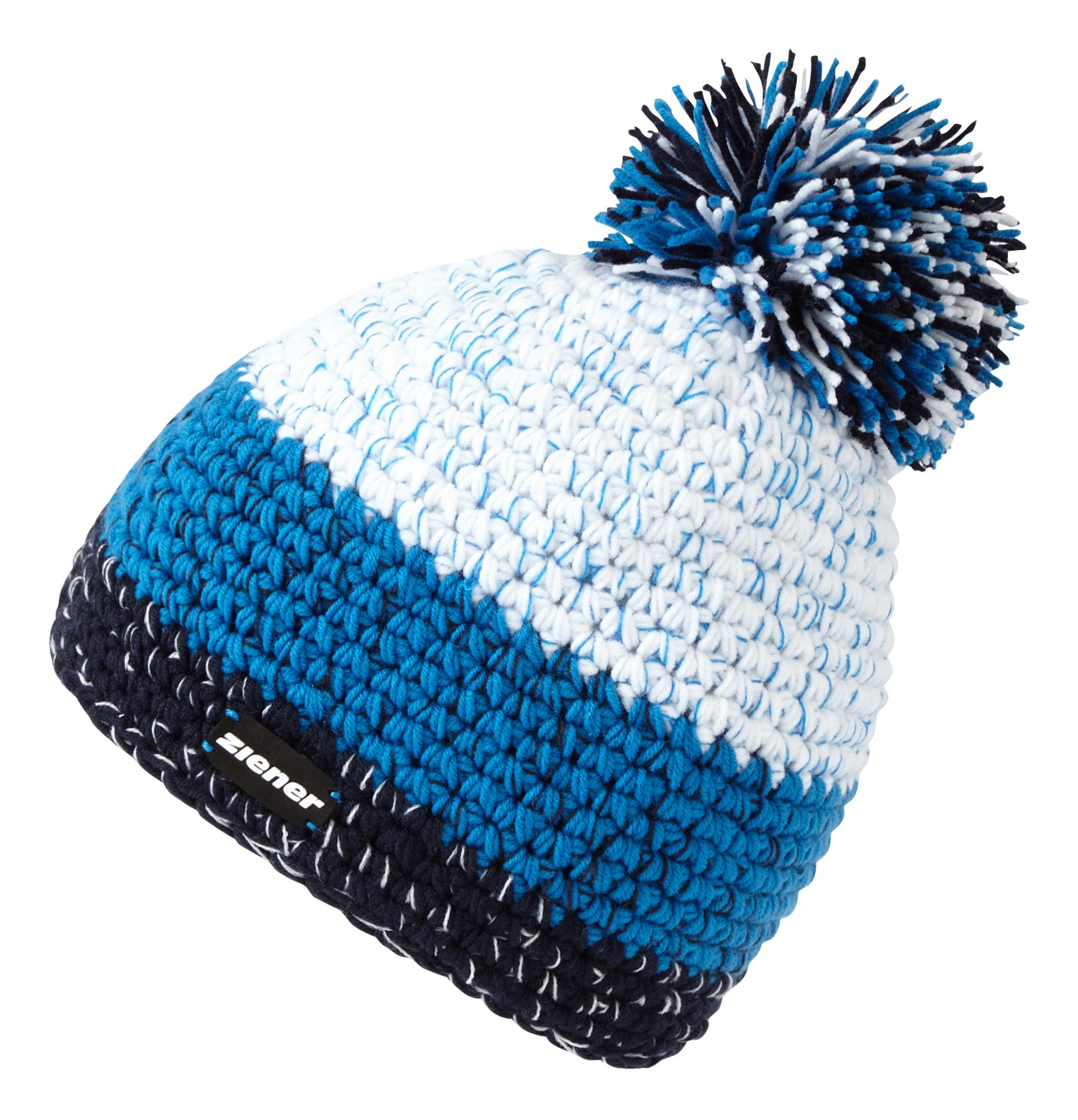 Ziener INTERCONTINENTAL, kapa za skijanje, plava