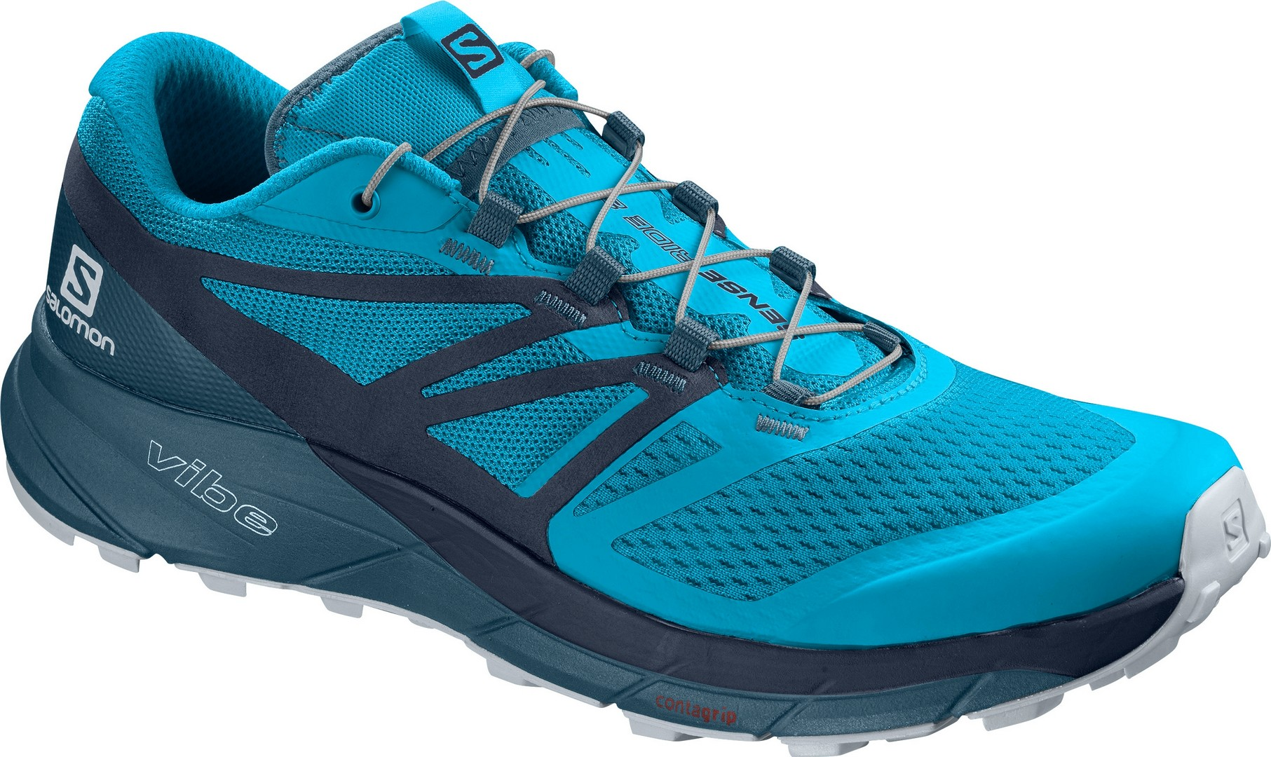 Salomon SENSE RIDE 2, muške patike za trčanje, plava