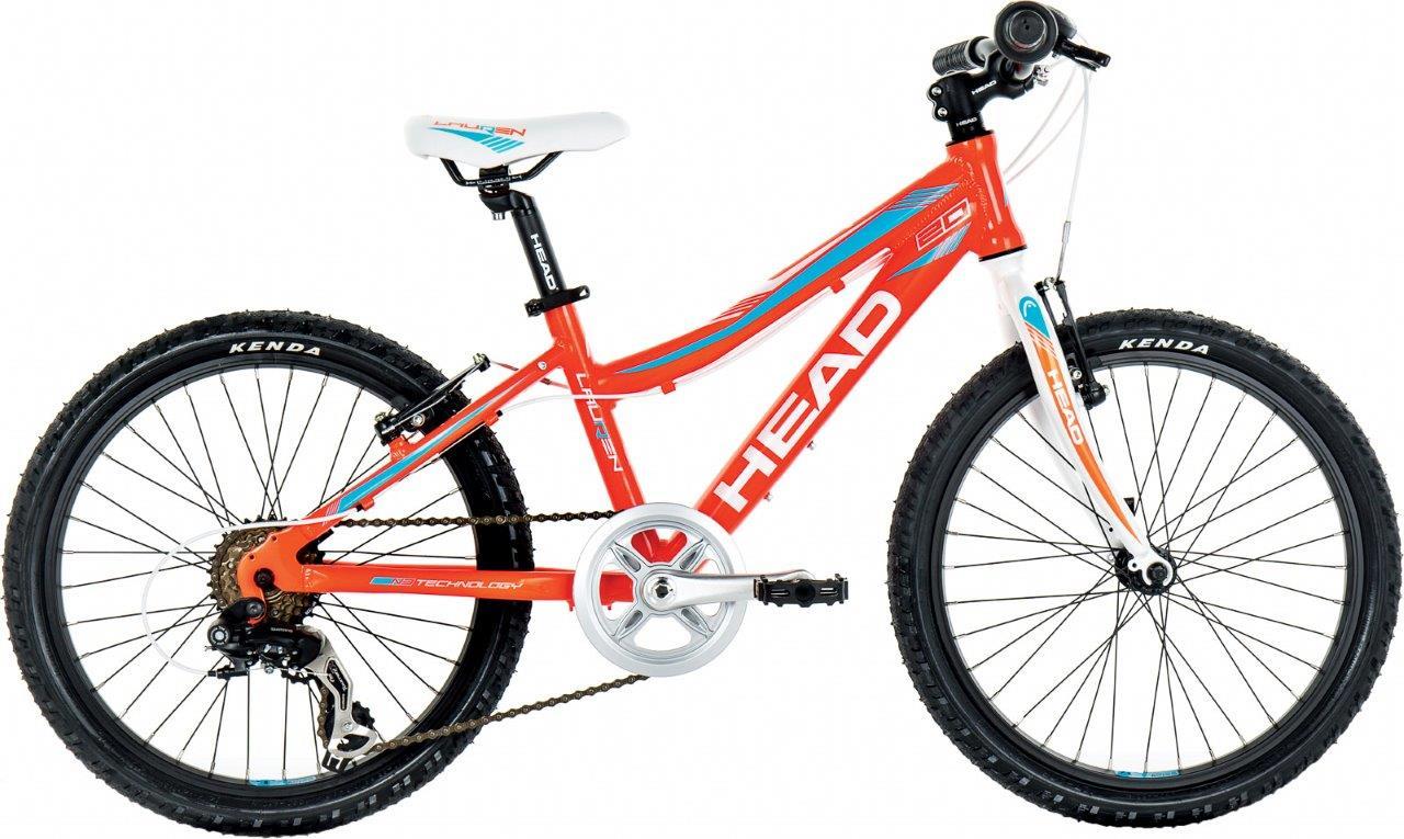 Head LAUREN 20, dečiji mtb bicikl, narandžasta