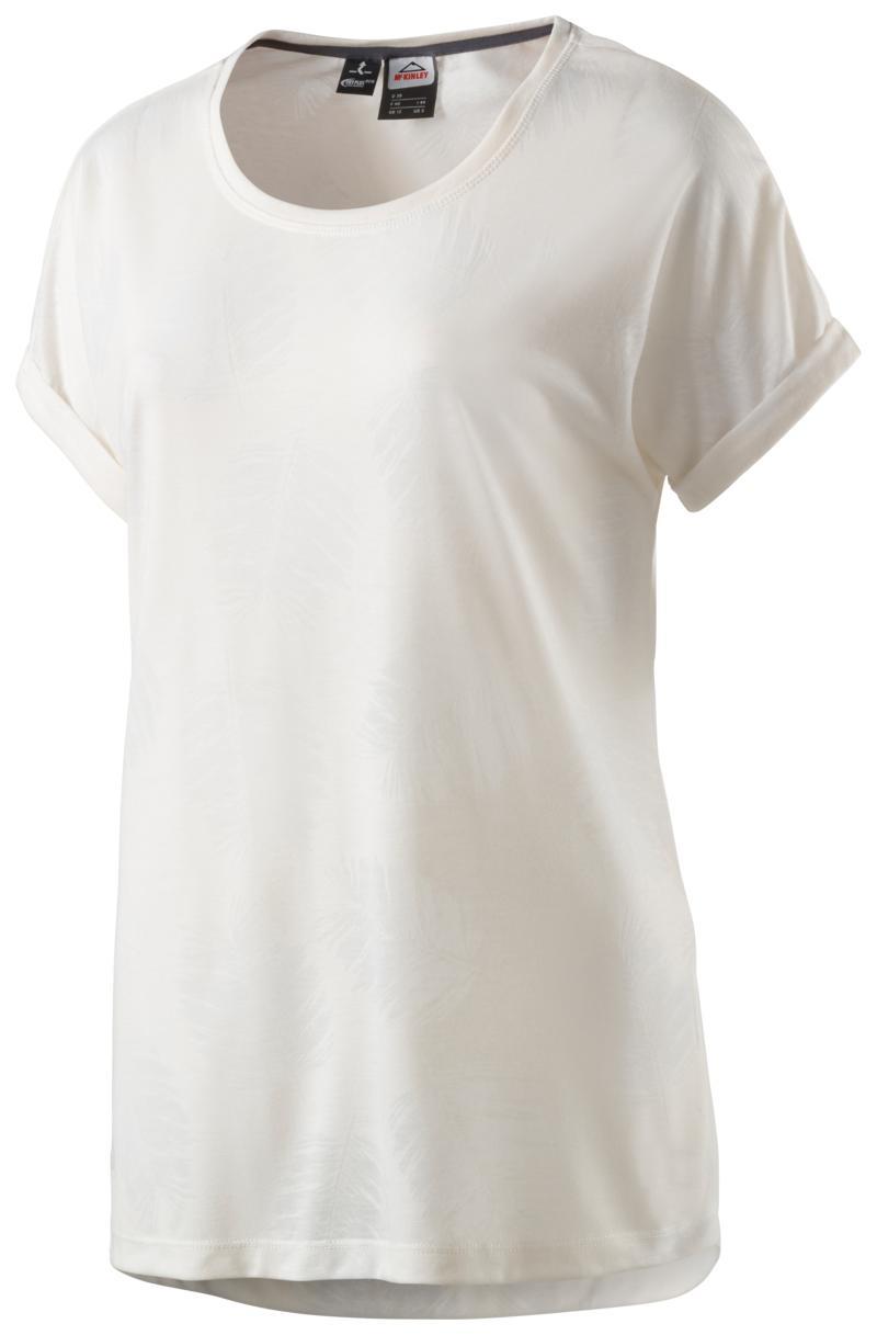 McKinley MARYS WMS, ženska majica za planinarenje, bela