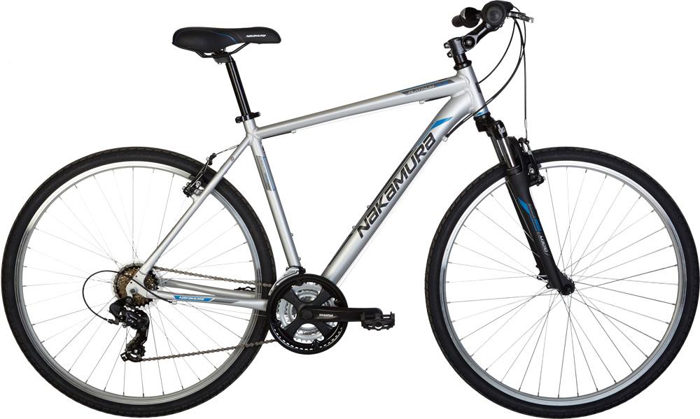 Nakamura PLATINUM 2.9, treking bicikl, siva