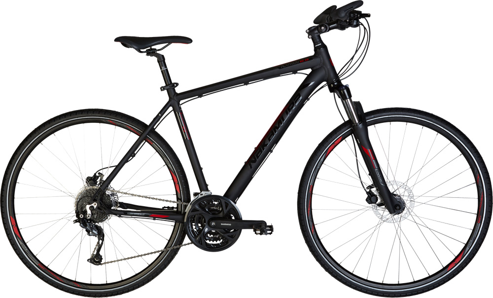 Nakamura PLATINUM 6.9, treking bicikl, crna