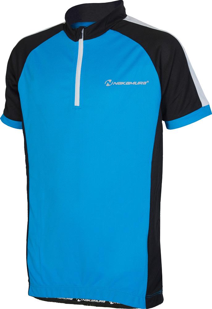Nakamura ALLEN, dečja majica za biciklizam, plava