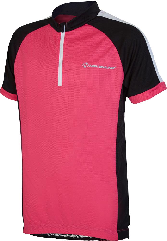 Nakamura ALLEN, dečja majica za biciklizam, pink