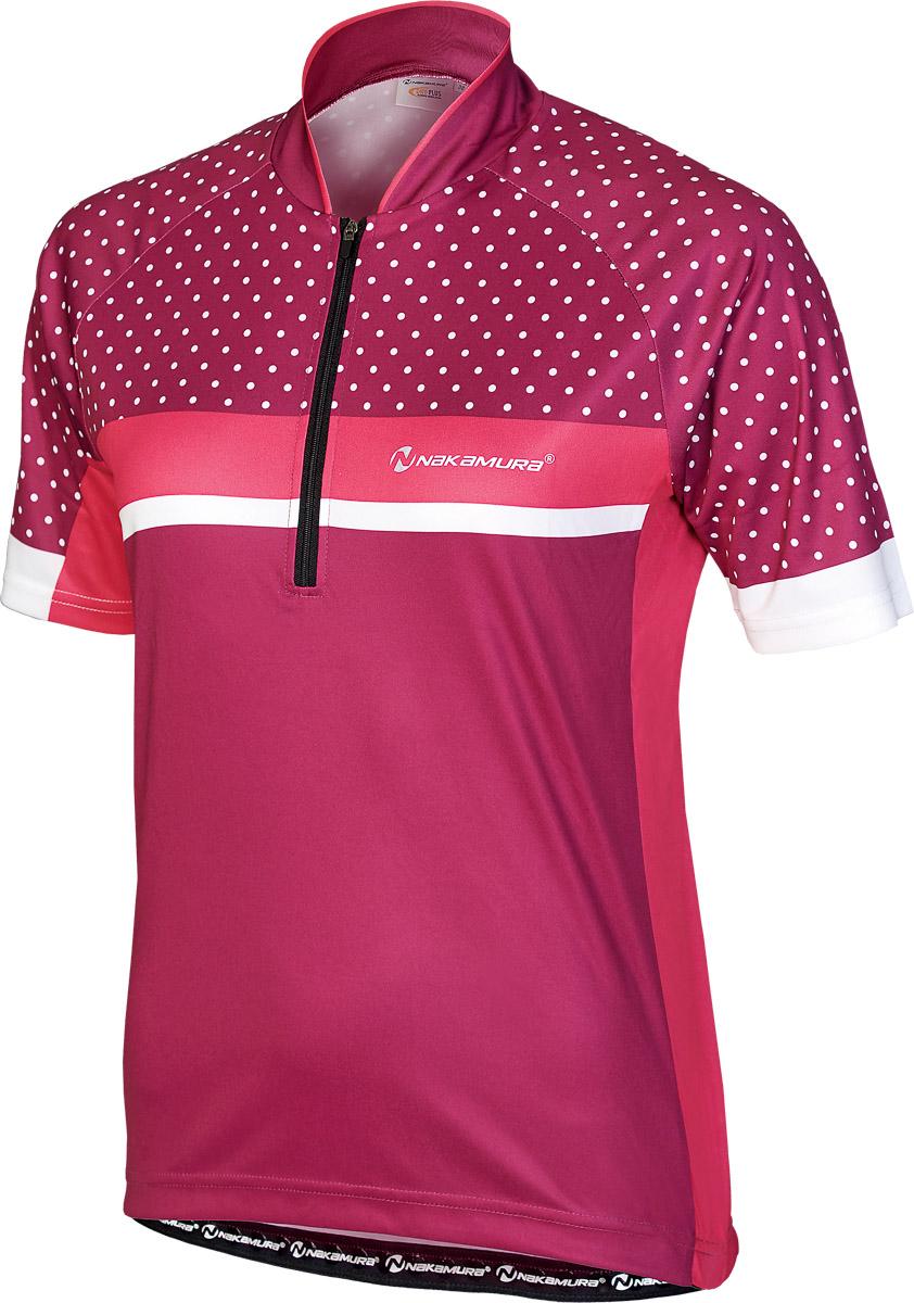 Nakamura GILDA, ženska majica za biciklizam, pink