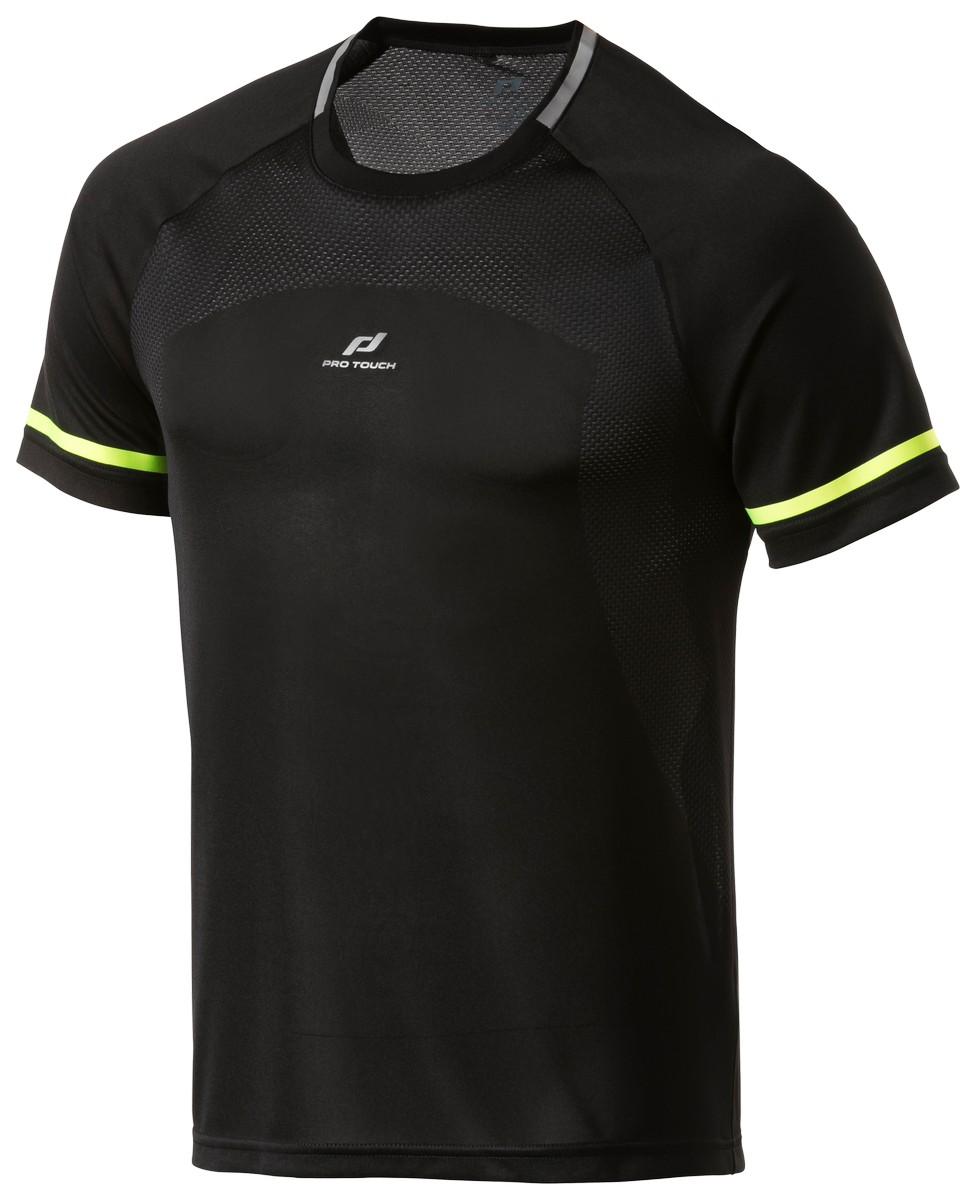 Pro Touch RAKIN IV UX, muška majica za trčanje, crna