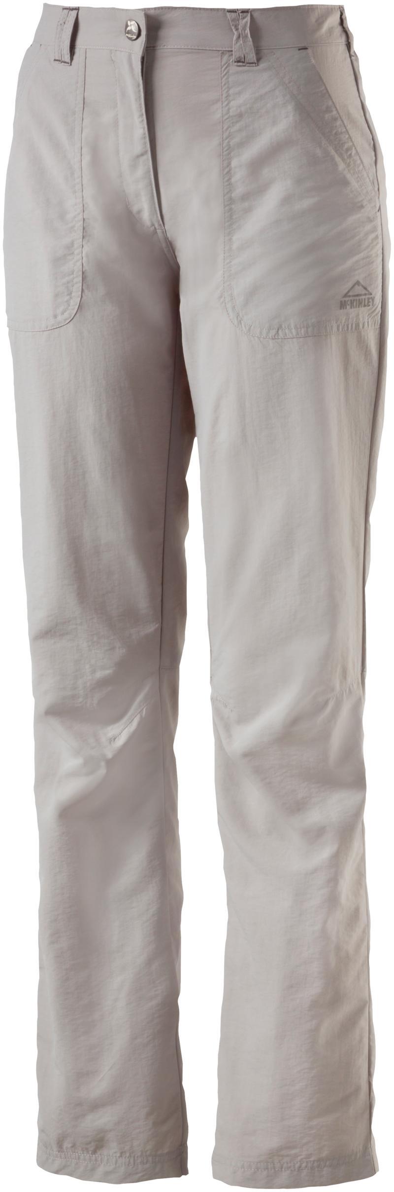 McKinley SHALIMA III WMS, ženske pantalone za planinarenje, siva