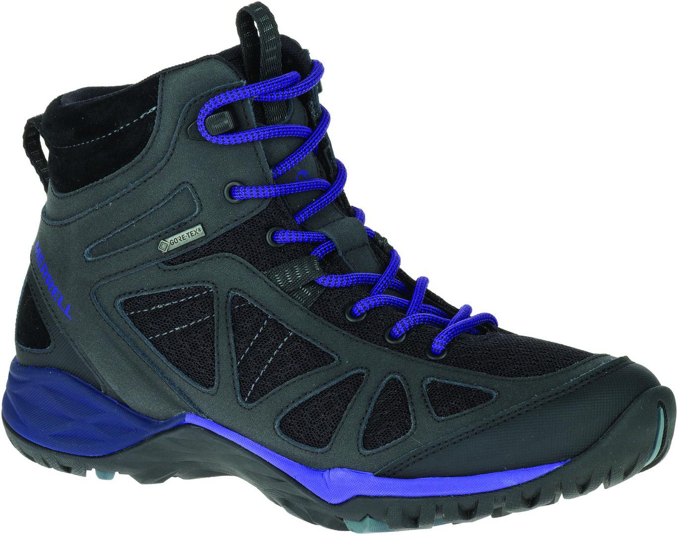 Merrell SIREN SPORT Q2 MID GTX, ženske planinarske cipele, siva