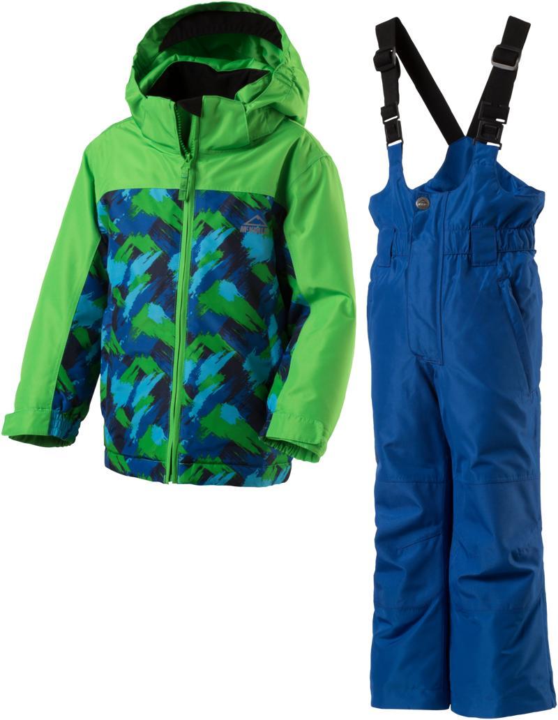 McKinley TIMBER KDS + RAY KDS, dečji komplet za skijanje, plava