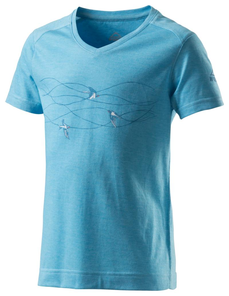 McKinley ZIYA GLS, dečja majica za planinarenje, plava