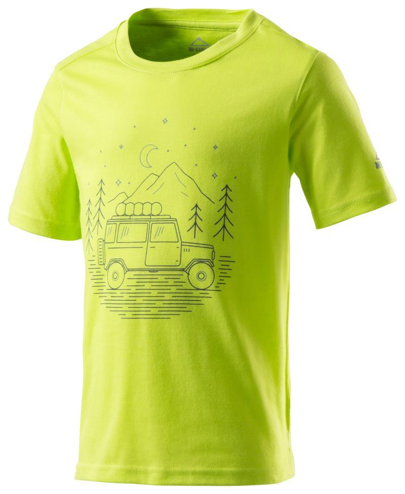 McKinley ZIYA JRS, dečja majica za planinarenje, zelena